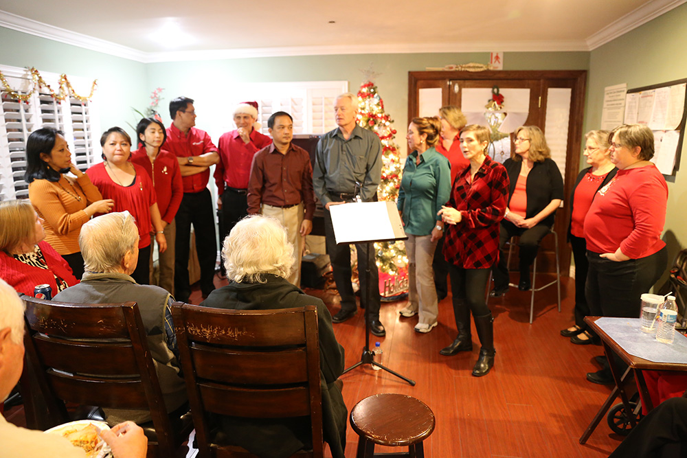 Assisted Living Torrance Walteria Americare Holiday Party