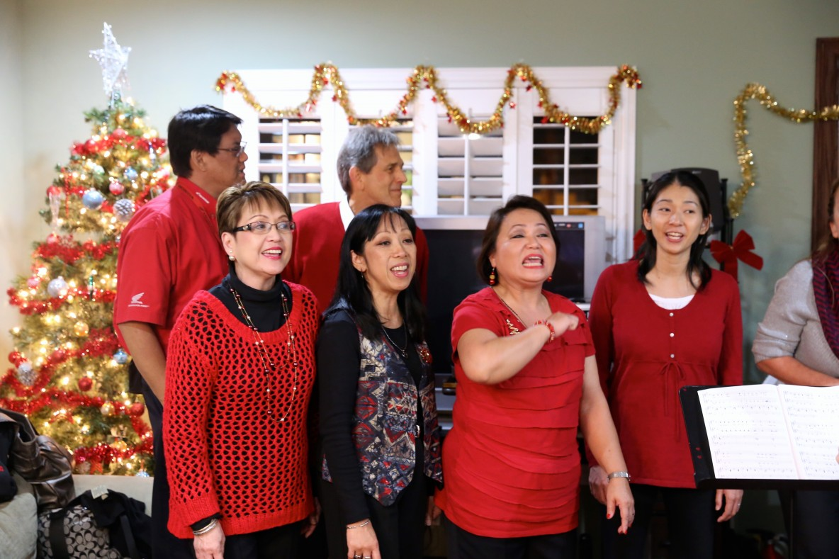 Assisted Living South Bay Torrance Americare Holiday Party