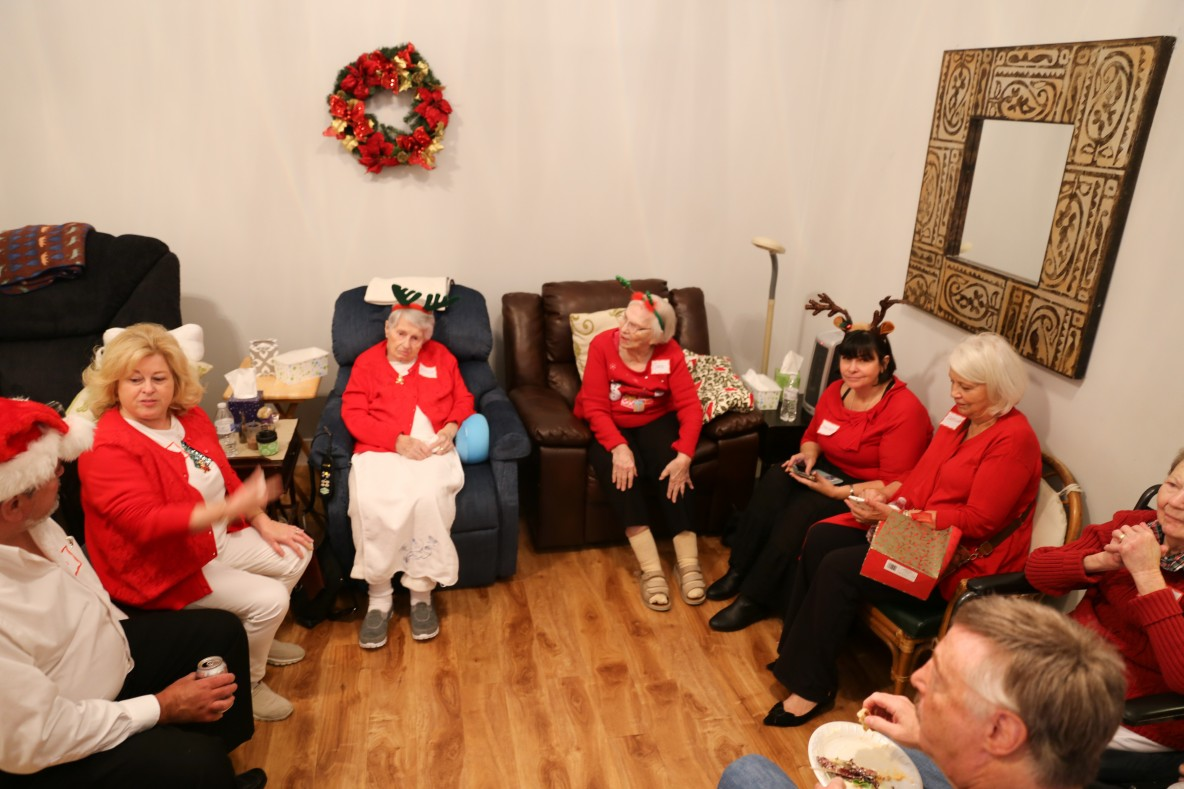 Assisted Living South Torrance Americare Holiday Party