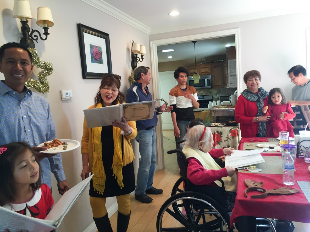 Assisted Living Redondo Beach Americare Holiday Party