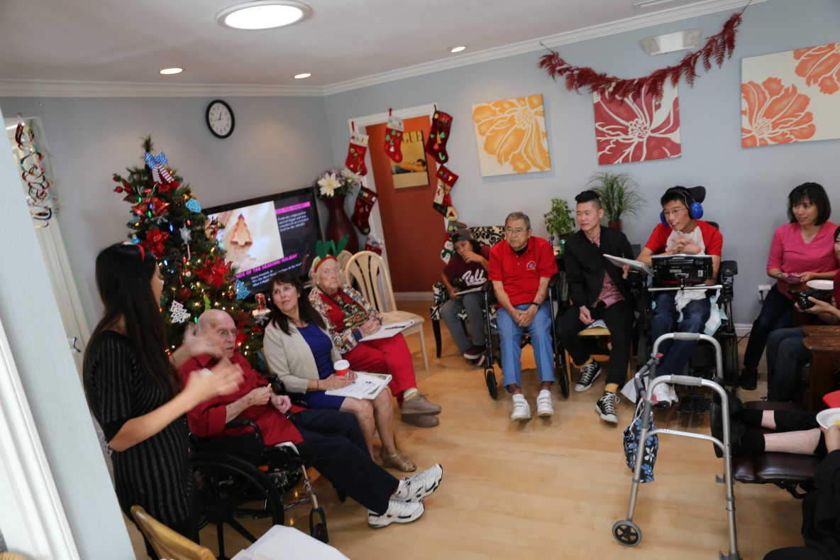 Assisted Living South Bay Lawndale Americare Holiday Party